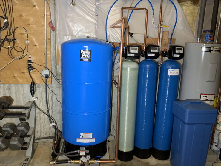 Water Tank System Installation